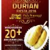 Durian Fiesta 2016 Di Plaza Semanggi