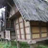 Konstruksi Lumbung Padi Tradisional