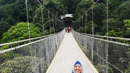 Sensasi Situgunung Suspension Bridge