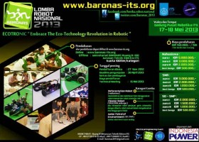 Lomba Robot Nasional ITS 2013