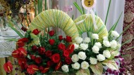 Rangkaian Bunga Gebyar Bunga Jakarta 2015