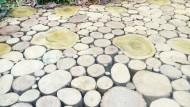 Batang Kayu Pengganti Paving Block