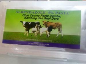 Albendazole Obat Cacing Ternak