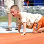 Rekor Katak Loncat 100 Meter