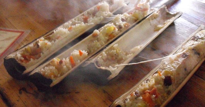 nasi-bambu