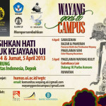 Wayang Goes To Campus (Universitas Indonesia)