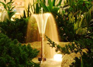 tarian air mancur kolam taman | bebeja