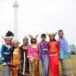 Kirab Budaya Rakyat Di Monas 2013