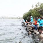 Mancing Ikan Baronang RAFAC Ancol 2014