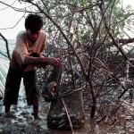 Menjala Ikan di Tepian Sungai Musi