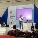 Bebeja Indoaqua 2015 (2): Pemimpin Redaksi Bebeja Moderatori Talkshow Maskoki
