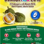 Bebeja.com Dukung Durian Fair 2016