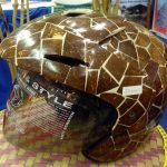 Helm Dari Batok Kelapa