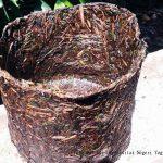 Pot Organik Jerami Padi